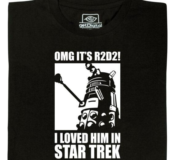 OMG it's R2D2!